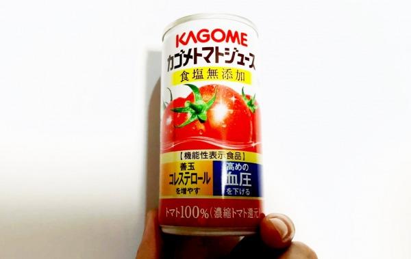 カゴメ トマトジュースは血圧に効果あり?カロリー・糖質を紹介!離乳食として使える?